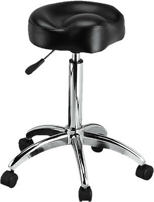 Comfortable Saddle Shape Stool - H-9171BK - Black