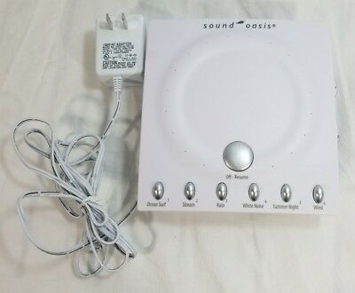 Sound Oasis Sleep Sound Therapy System S-550-06 Sleeping Aide