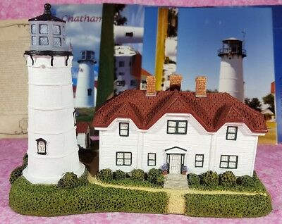CHATHAM LIGHT Mass. Lighthouse Harbour Lights COA, Photos, Post Cards SIGNED