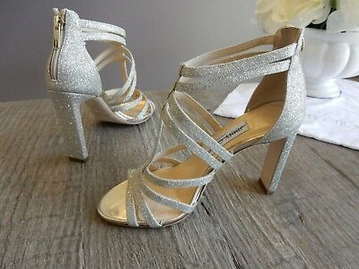 ebbcca1669e  895 New Jimmy Choo Selina Glitter strappy caged leather high heel sandals  36.5