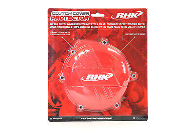 Honda Crf250R 2010 - 2017 Rhk Clutch Cover Protector Red