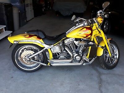 Harley-Davidson: Softail 2009 Harley Davidson Softail Springer Screaming Eagle CVO