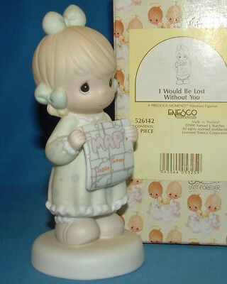 Precious Moments Figurine - pm 526142, I Would Be Lost Without You w/box