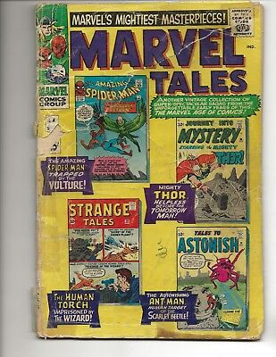 Marvel Tales #4 - Marvel Comics (1966) - reader copy (Poor condition)