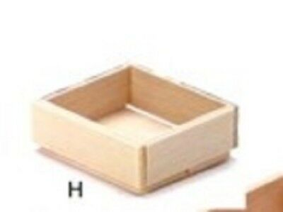 Dollhouse The Robin's Nest Miniatures 1/12 Scale Small Wood Fruit Crate T8412
