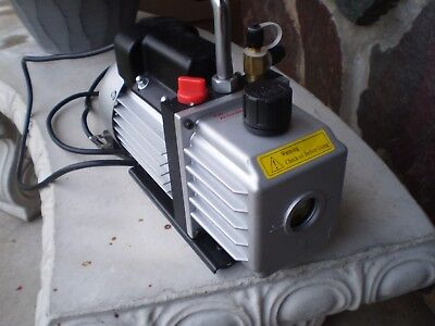 HVAC Refrigeration Rotary Vacuum Pump  Used One Time