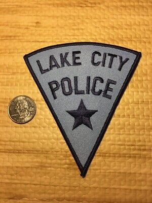 Lake City Iowa Police Department Patch Ia