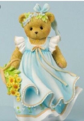 Cherished Teddies Chelsea #4035944 Joy Is Wildflowers NIB