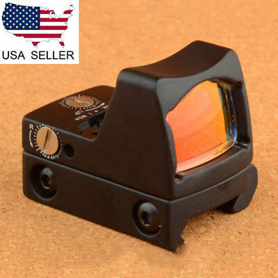 US Tactical RMR LED 3.25 MOA Holographic Red Dot Laser Sight Scope 20mm Rail