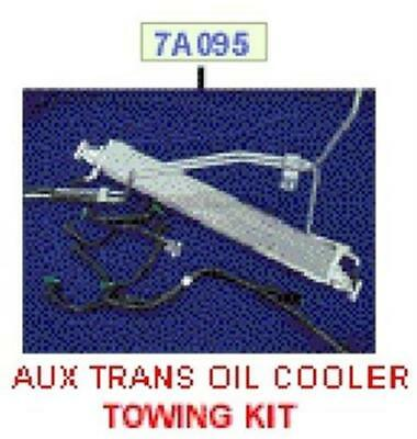Genuine Ford Nos Bf Falcon 4.0 4Spd Auto Transmission Aux Cooler Kit Rrp $475.86