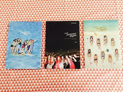 Twice 2nd special album Summer nights album booklet only