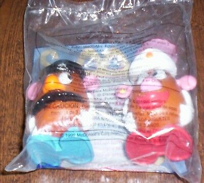 McDonald's Happy Meal Toy Story 2 Mr & Mrs Potato Head - Sealed In Bag