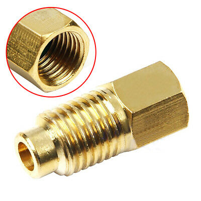 R12 to R134a Gauge Air Conditioner Vacuum Pump Hose Fitting Adapter Converter UK