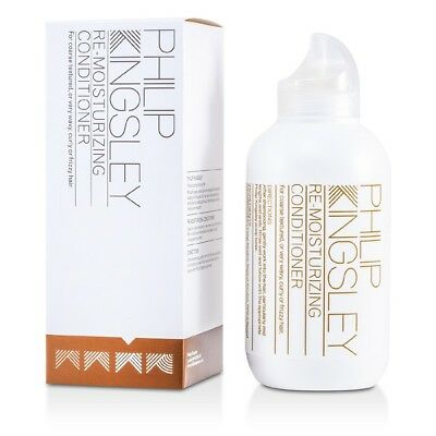 Philip Kingsley Re-Moisturizing Conditioner Coarse Wavy Curly Frizzy Hair 250ml