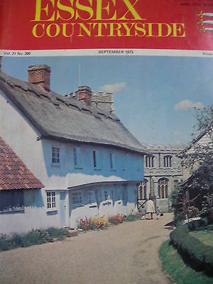 Essex Countryside Vol 21 No 200 Sept 1973 Elizabethan Essex Hanningfield