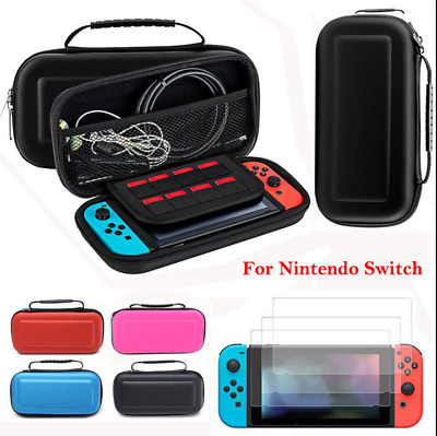 Portable Travel Case for Nintendo Switch w/Console Accessories Screen Hard Shell