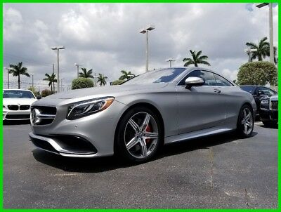 Mercedes-Benz S-Class S 63 AMG® 2016 S 63 AMG Used Turbo 5.5L V8 32V Automatic 4MATIC Coupe Premium