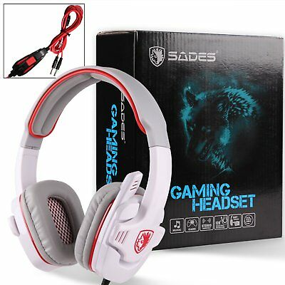 Stereo Headphone Gaming Headset Earphone with MIC For PC Laptop Notebook