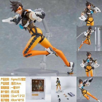Figma 352 Overwatch Tracer Lena Oxton 5.5'' New In Box Christmas gift