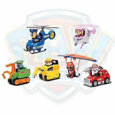 Paw Patrol Ultimate Rescue Mini Vehicles With Pup Figure Children's Toy Play