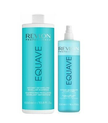 Revlon Professional Set Equave Hydro Conditioner 500ml & Hydro Shampoo 1000ml