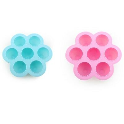 Baby Food Container Infant Flower Lattice Fruit Breast Milk Storage Box Saf M8E3