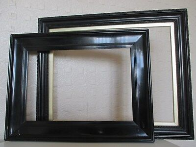 2 Beautiful 19th Century Ebonised Frames for Picture - Painting