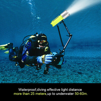10000LM XM-T6 LED Diving Flashlight Waterproof Underwater Flashlight Torch Lamp