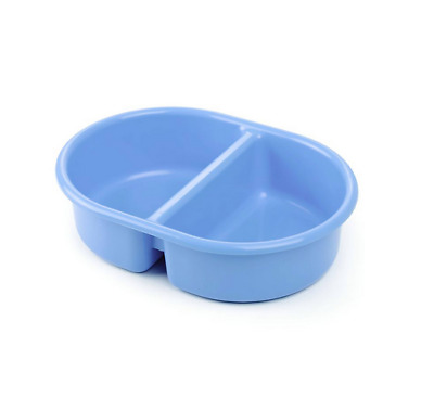 Brand new from The neat nursery co oval top and tail bowl in blue