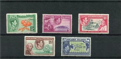 Pitcairn Islands. 5 --G6 Mounted Mint Stamps On Stockcard