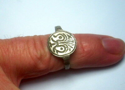 14-15 century Silver Medieval Ring