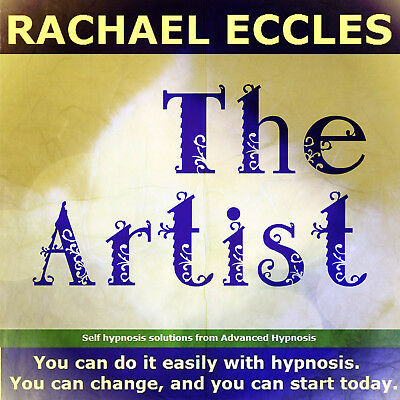 The Artist: Enhance Creativity Hypnotherapy Hypnosis CD, Rachael Eccles