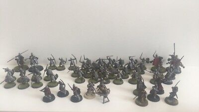 Warhammer Lord of the Rings - Well Painted - Gondor Army - Over 50 Miniatures