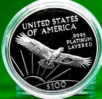 1997 $100 Platinum Eagle Coin Proof