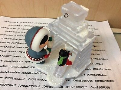 Frosty Friends Hallmark Ornament 2018 #39 In Frosty Series Dated Free Ship In Us