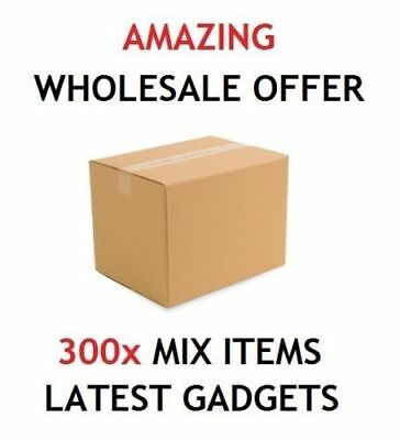 Mixed 300 Items Wholesale Job Lot Iphone 5S 6S Ipad Ipod Gaming Accessories Uk