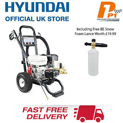 Honda 3200PSI Petrol Pressure Washer HIGH POWER Commercial Use 6.5HP 221 BAR