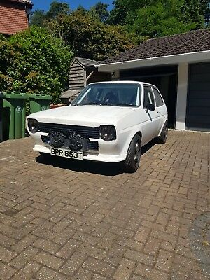 1979 Ford Fiesta Mk1 Twin Engined Rs Turbo 1.8 - Project, Custom, Rs, One Off