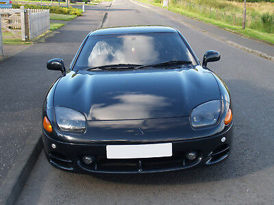 Mitsubishi GTO New shape 1995 Black 4WD & 4WS Only 71434 Miles. 1 Years MOT