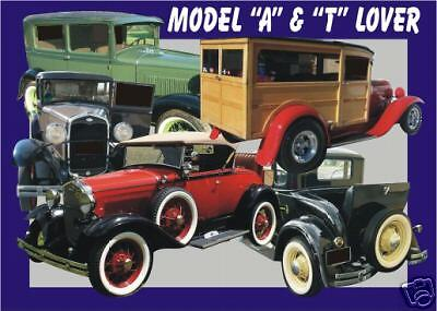 MODEL A & T   CAR MOUSE PAD collector (patternsrus)