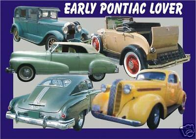 EARLY PONTIAC   CAR MOUSEPAD  collector (patternsrus)