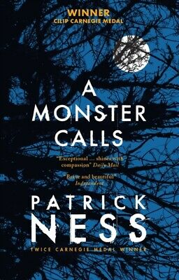 A Monster Calls by Patrick Ness, Siobhan Dowd (Paperback) Book