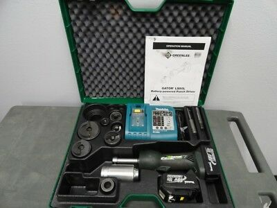 """Greenlee LS50L11 LS50L 18V Battery Punch Driver Knockout Tool Kit 1/2"""" - 2"""" #2"""