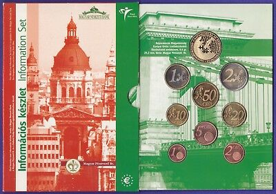 Hungary 2003 EURO coin Proof set FLEUR DE COIN Grade - Boxed as issued......S825