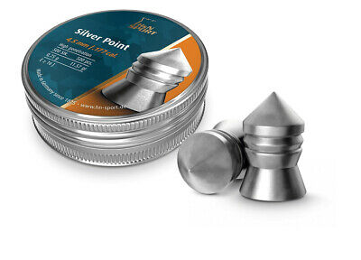 H&N Silver Point 4,5 mm Diabolo 500 er Dose