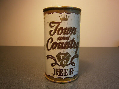 Town and Country flat top beer can USBC 139-16 Oakland CA