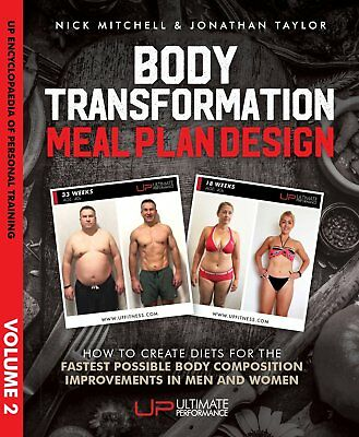 Principles of Body Transformation Meal Plan Design by Nick Mitchell