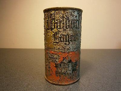 Waldorf Lager flat top beer can USBC 144-3 OT Cleveland OH
