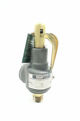 Dresser 1543F Consolidated Relief Valve 1041lbs/hr 100psi 3/4x1in Npt