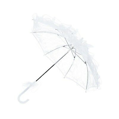 1pc Stylish Exquisite Lace Parasol Wedding Lovely Umbrella for Bride Girls Women